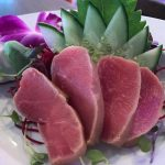 Seared Blue Fin Tuna Sashimi with Ponzu